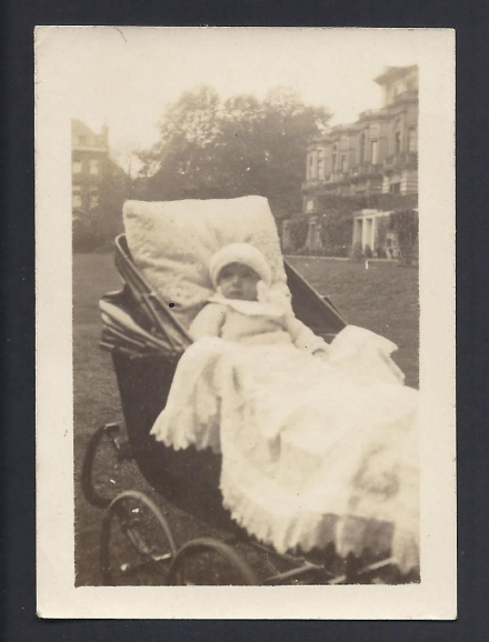 Grand Duchess Xenia of Russia Annotated Photo of Prince Nikita Romanov as a Baby